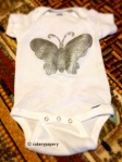 Butterfly Painted Onesie