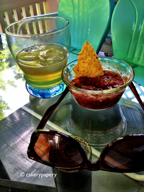Happy hour, salsa & margaritas