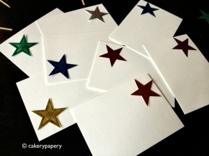 DIY Star Placecards