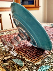 DIY Tiffany Blue Cake Stand