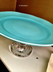 Tiffany Blue Cake Stand