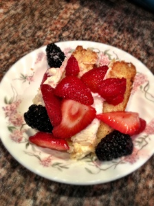 Marscapone Cake with Fresh Berries